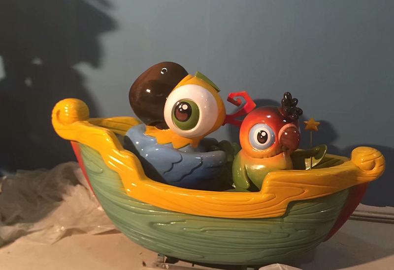 萌宠乐园雕塑设计