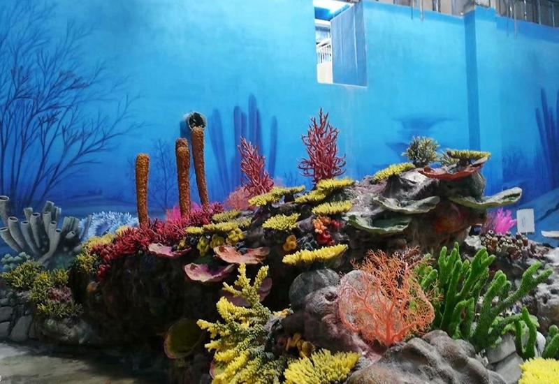 水下造景施工