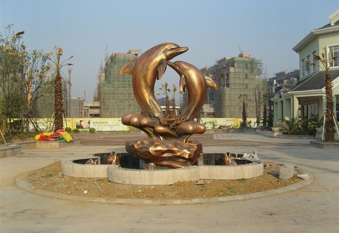武汉极地雕塑安装