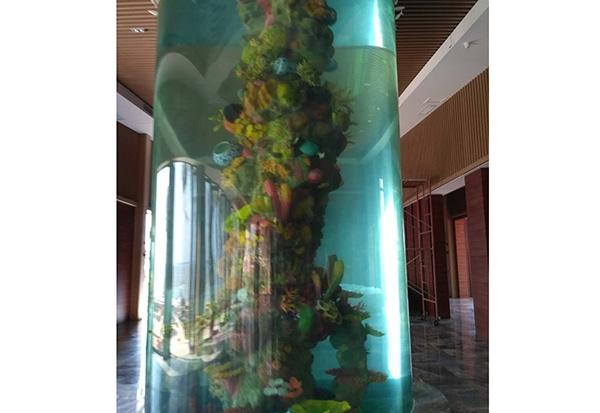 海洋公园海兽池施工