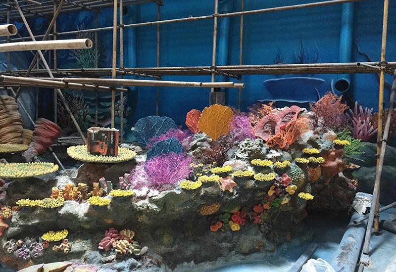 海洋公园水下施工
